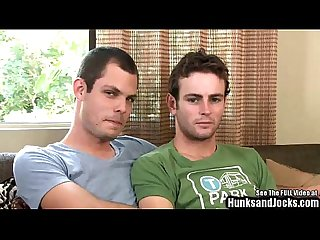 Jeff an Mathew meet on set for the 1st time