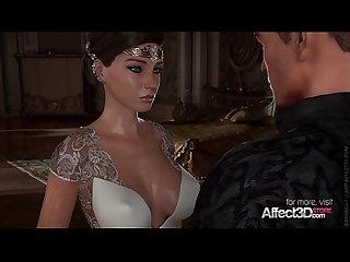 Black hair princess fucked hard