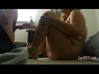 Horny chubby girl cheating on her boyfriend