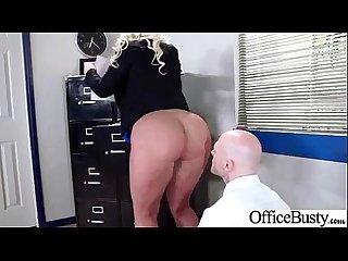 Hard Sex Action With Big Tits Slut Office Girl (julie cash) clip-16