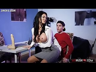 Busty bombshell jasmine jae foreplays with jordi mshush com