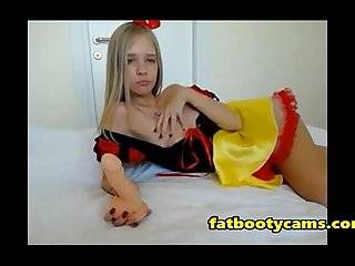 Snow white teen is just a virgin fatbootycams com