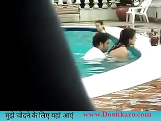 indian douctor fucking pussy in swiming pol