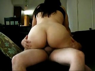 Big ass aunty riding on cock get fucked hard
