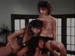 Hot vintage christy canyon 3way