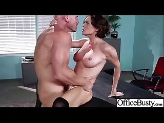 In Office Sex Is More Fun With Slut Bigtits Worker Girl (krissy lynn) movie-14