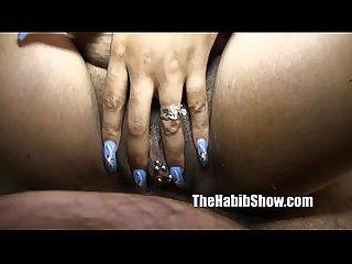 Pussy pierced tattooed black stripper st louis freak fucked