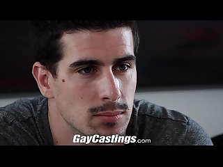 Gay castings straight stud fucked on cam for money