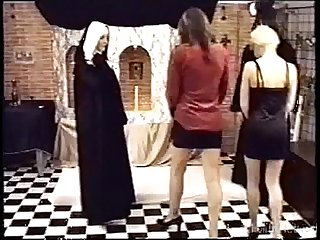 Orgy in the church by dead insemination