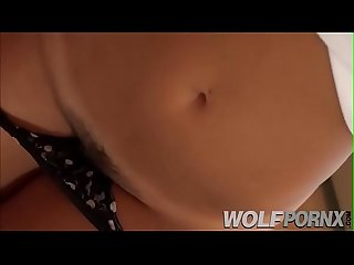 My cousin Eva Lovia a very horny asian shows me her big ass