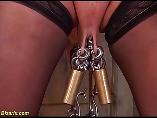 Extreme german mature slave