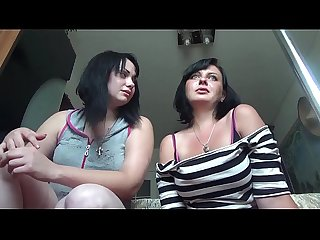 2 russian cruel giantess crushing you and pee on you rus