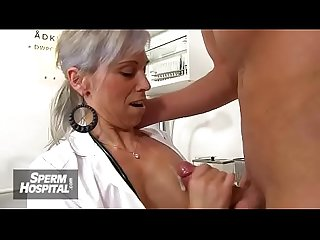 Sperm donation hospital feat period busty lady doctor danielle