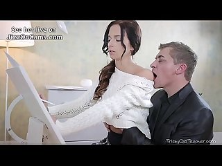 Tricky old teacher christy gets her tricky old teacher to play jizzoncams com