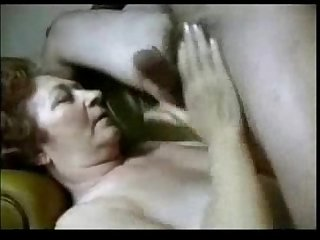 Granny having fun with horny student amateur