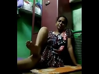 desi bhabhi masturbating opening her legs in kitchen
