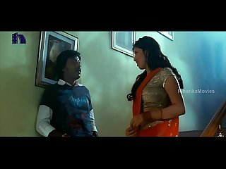 Lakshmi rai in red Saree lawrence and lakshmi rai romantic kanchana movie scenes