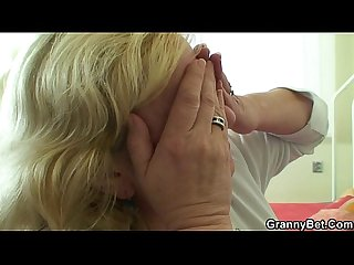Cock hungry grandma is pounded