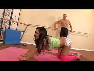 yurizan beltran gets fucked working out