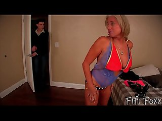 Mom becomes a stripper son fucks mom payton hall