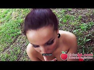 POV PICKUPS �?� Sexy Studentin �?? aus Deutschland im Park weggefickt JOLEE LOVE