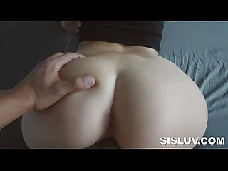 Seductive naiomi mae giving head and banged by big penis
