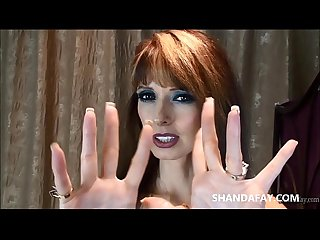 Hot canadian amateur milf handjob with shandafay