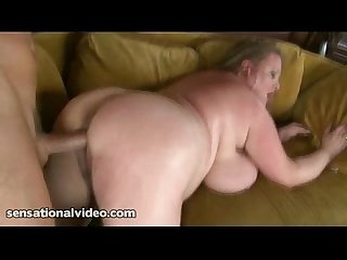 Huge tit wife fucks fan who picks her up
