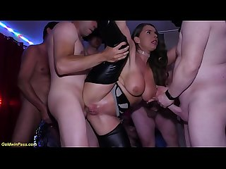crazy big breast milf Sexy Susi rough anal group banged