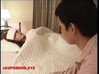 Horny Mom and Son - wake up sex