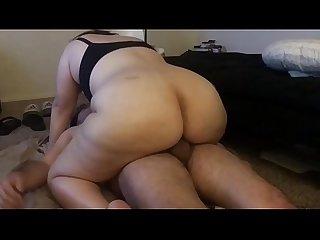 Bbw wife riding dick