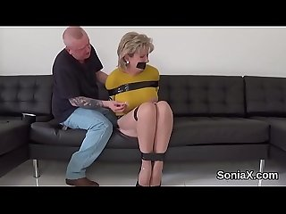 Adulterous english mature gill ellis displays her heavy tits
