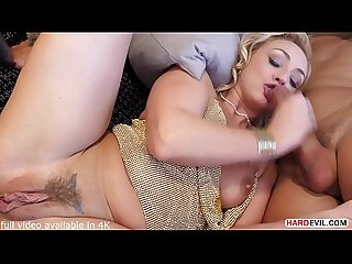 DP Eager Amber Deen Gets What She Dreams of, two Huge Dongs in her Ass and Pussy