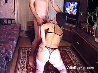 Russian milf home fuck 1
