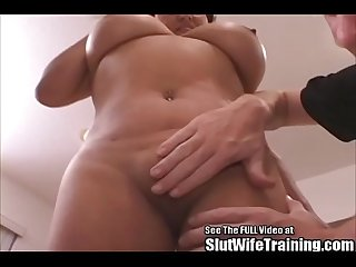 Big Boobs Latina Wife Fucked by Dirty D