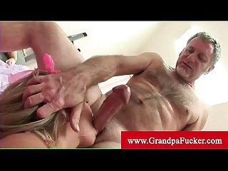 Jaelyn fox takes on two older men