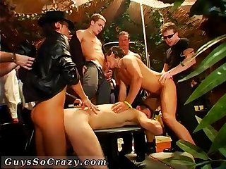 Guys sucking cock at party stories gay first time gangsta soiree is