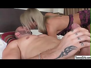Tranny Vivi gets banged in doggystyle