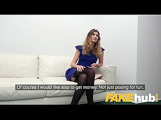 Fake Agent Casting couch fuck and massive facial for Romanian beauty