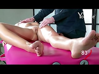 Yonitale massage with beautiful skinny model