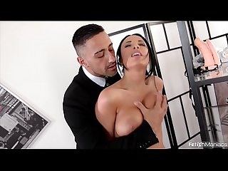 Fetish maniacs go nuts as big ass babe anissa kate gets Dp ed with strap on
