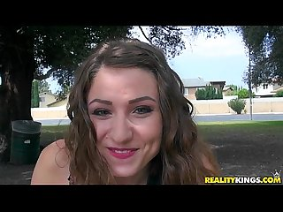 Reality kings teen gets picked up in the park for porn