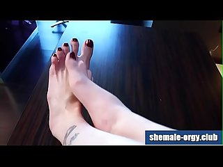 Chelsea Marie Shemale Feet Fetish @ Shemale-Orgy.Club