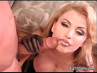 Busty blonde babe taylor wane gets wet