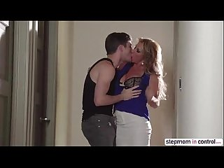 Horny MILF Farrah Dahl and Janet Mason gets fuck hard by a lucky guy