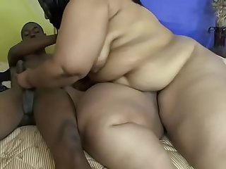 Busty and booty ebony BBW whore Fallon Fierce gets fucked doggystyle