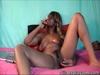 Smoking wet masturbation nilou achtland