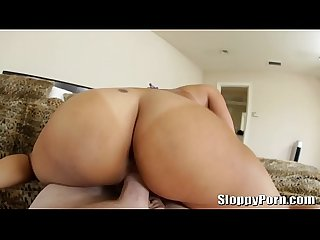 Horny asian slut Jayden Lee POV cowgirl and doggystyle