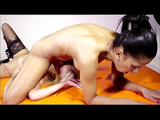 MISTRESS VS CHEATED WIFE - FOOT FETISH LESBIANS