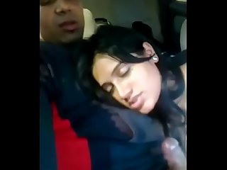 Hot girlfriend sucking cock inside car full Vid period on indiansxvideo period com